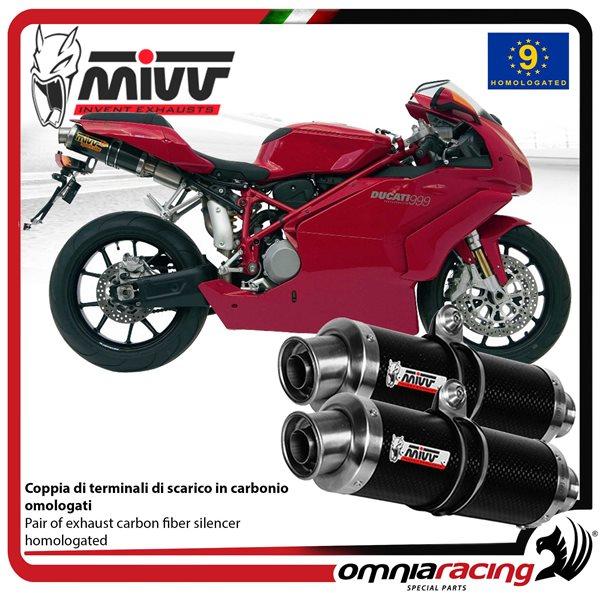 999 2003 F Fabbri Plexi Doppia Bombatura Cupolino Fume Chiaro x Ducati 749