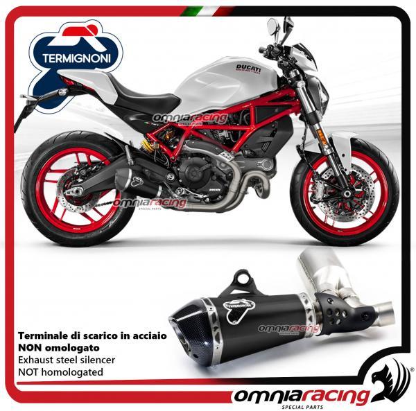 Termignoni Exhaust Racing Steel Black Slipon: Termignoni Exhaust Ducati At Woreks.co