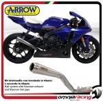 Arrow Kit intermedio Racing Terminale Pro-Race in Titanio per Yamaha YZF R1/ R1M 2017>