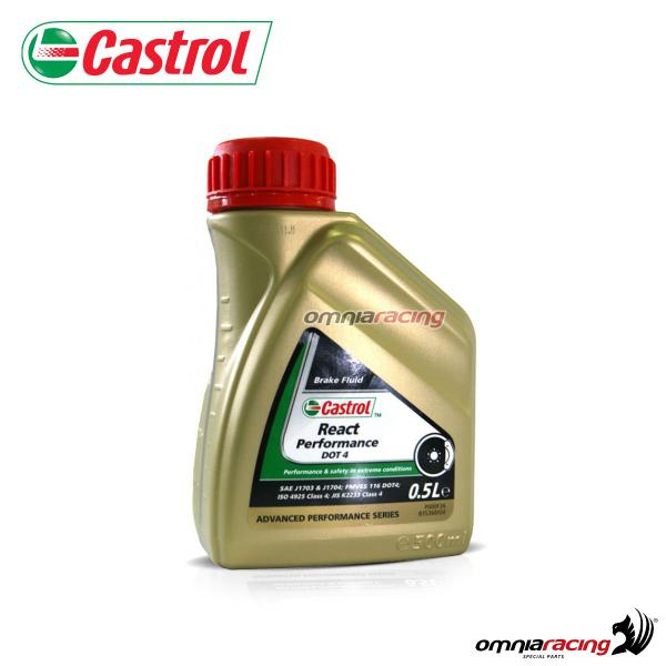 Castrol brake fluid oil DOT4 React Performance 500 ml