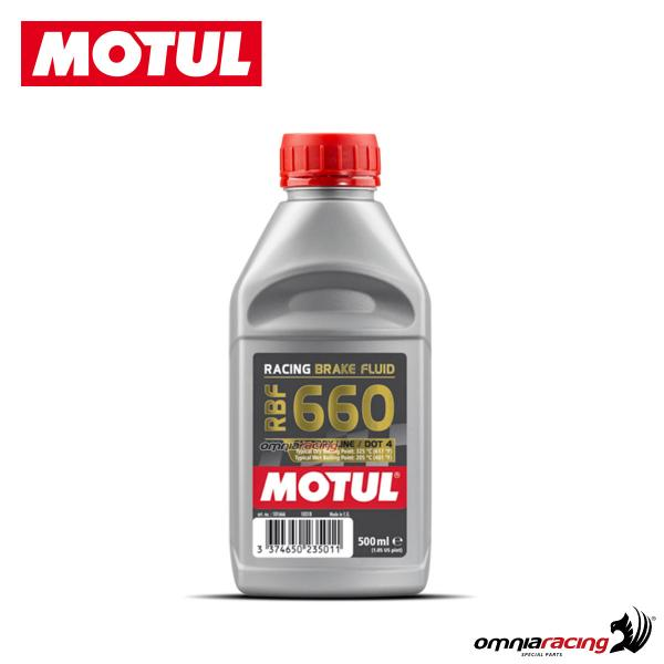 Brake/clutch fluid DOT4 Motul RBF 660 totally synthetic 500 ml