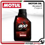 Motul 1L Factory Line 800 motor oil for 2t engine for offroad bikes