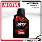 Motul 1L Factory Line 800 motor oil for 2t engine for road bikes