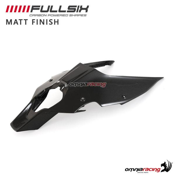 Seat Tail Bottom Cover Fullsix Carbon Fiber With Matt Finish For