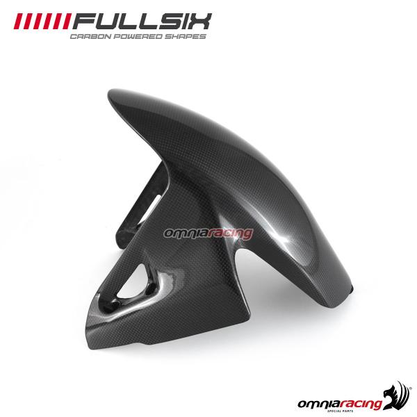 Front mudguard Fullsix carbon fiber with glossy finish for Ducati Panigale V4/S 2018>