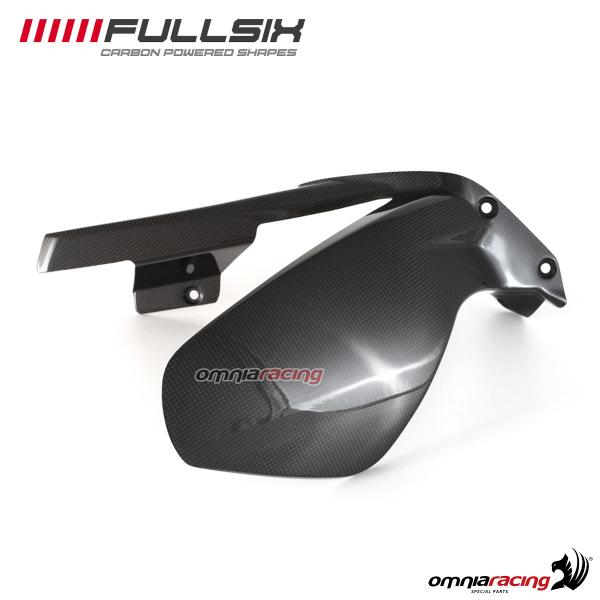 Rear mudguard Fullsix carbon fiber with glossy finish for Ducati Panigale V4/S 2018>