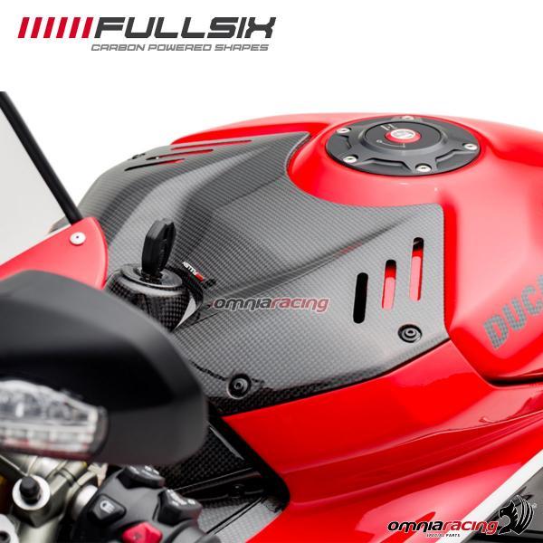 Fullsix Tank Cover Street In Carbon Fiber For Ducati Panigale V4