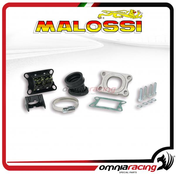 Malossi complessivo collettore inclinato X360 per 2T Beta Enduro RR / Supermotard RR