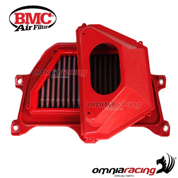 Filters BMC air filter standard for YAMAHA R6 FULL KIT with Air Flow  Restrictor 2006>2007