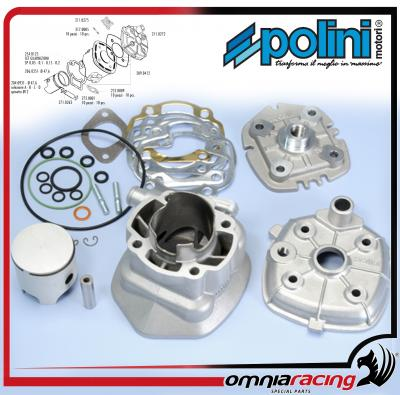 Polini Evolution 3 - Ø47 6 P 12 Cylinder Kit for Malaguti F12 Phantom LC /  F15 FireFox H2O