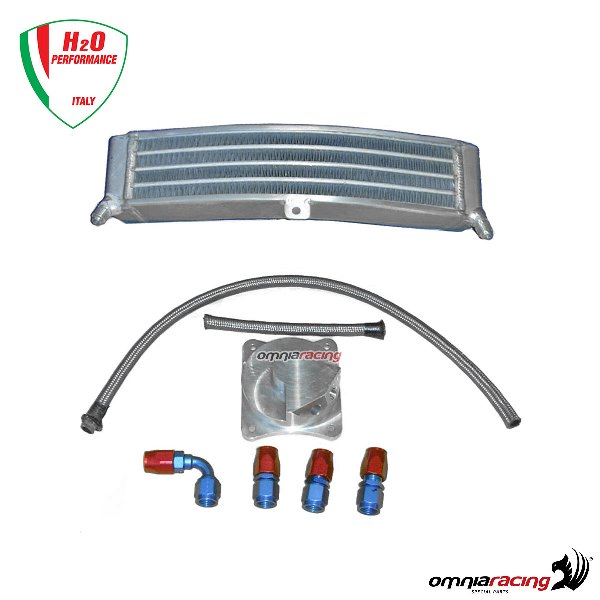 H2o Performance Oversized Racing Water Radiator Kit For Honda Cbr