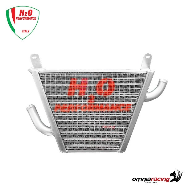 "H2O Additional water radiator ""Trofeo"" for Honda Hornet"