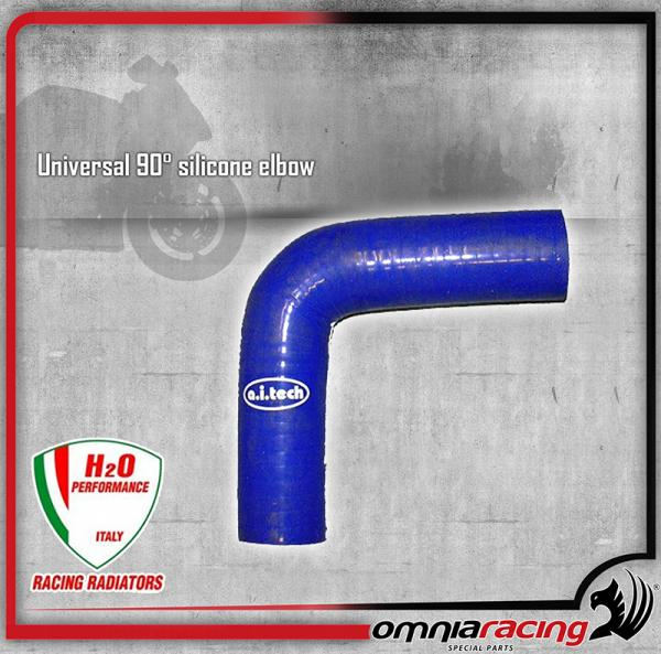 H2O Performance - Tubo in Silicone Universale 90° diametri differenti - 0,2 MT