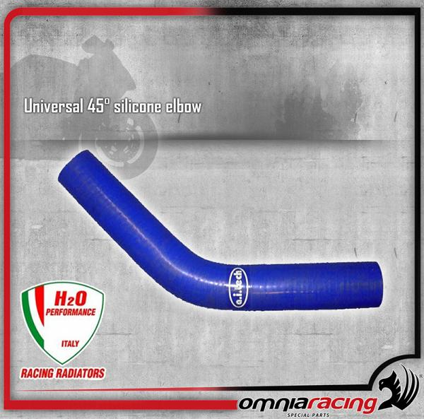 H2O Performance - Tubo in Silicone Universale 45° diametri differenti - 0,2 MT
