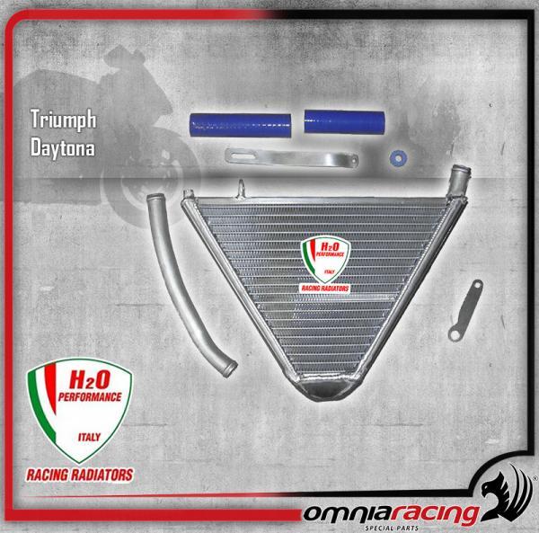 H2o Performance Additional Water Radiator Kit Per Triumph Daytona