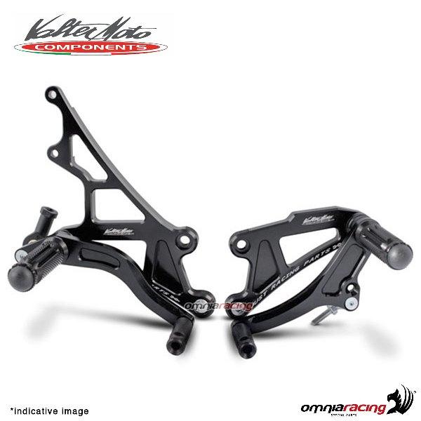 For Kawasaki Z1000 Non ABS 2010-2012 Footpegs Rearset Shift Brake Set Adjust