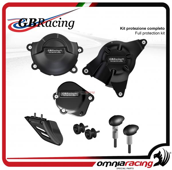 GB Racing - Kit completo protezioni carter per YZF Yamaha R6 2006>2017