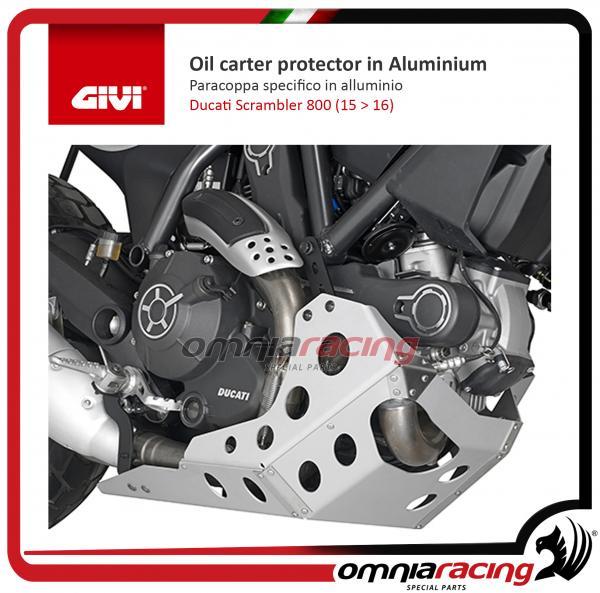 Givi Paracoppa Olio Protezioni Motore In Alluminio Specifico Per