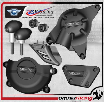 GB Racing - Kit Completo Protezioni Carter per Yamaha YZF 600 R6 06>08>10>13