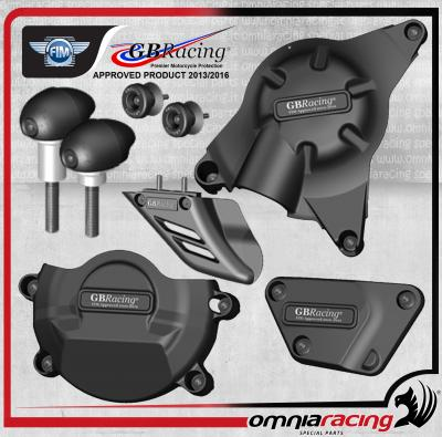 GB Racing - Kit Completo Protezioni Carter Race per Yamaha YZF 600 R6 06>13