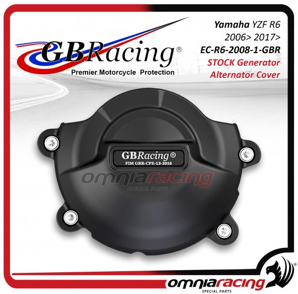 GB Racing Protezione Carter Alternatore Yamaha YZF 600 R6 2006 06> 2017>