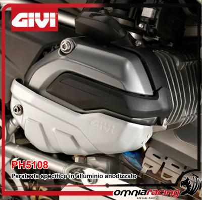 Givi Paratesta Protezione Testa Specifico in Anodizzato Alluminio BMW R 1200 GS / R / RS / RT 13>