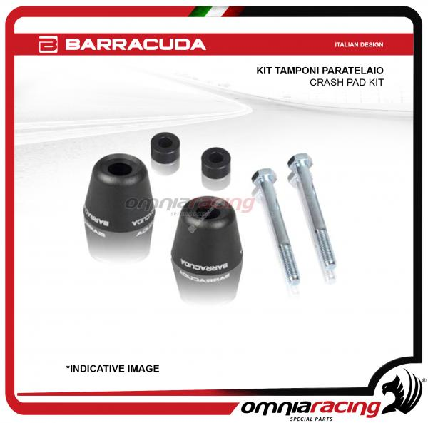 Barracuda coppia kit tamponi paratelaio per Honda Hornet 600 1999>2006