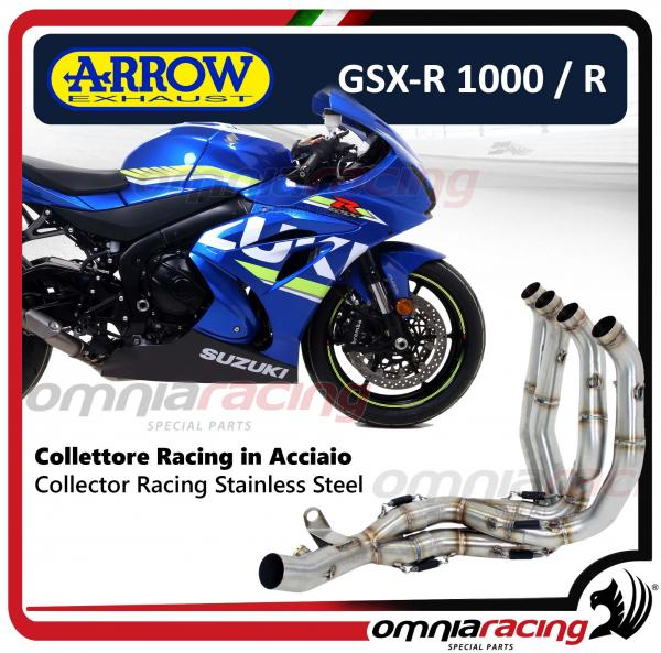 Arrow Collector Stainless Steel Racing Not Homologated For Suzuki Gsxr1000 R 2017
