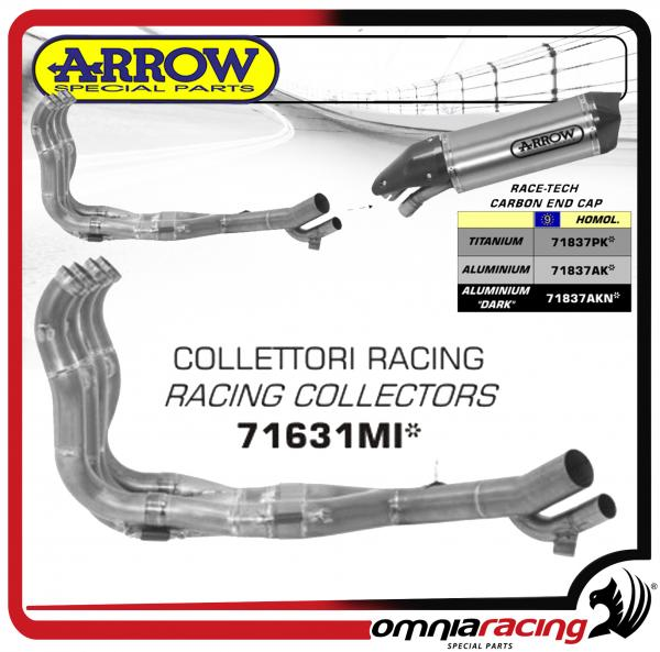 Arrow 4:2:1:2 Racing Manifold / Header Kit for BMW S1000XR 2015>