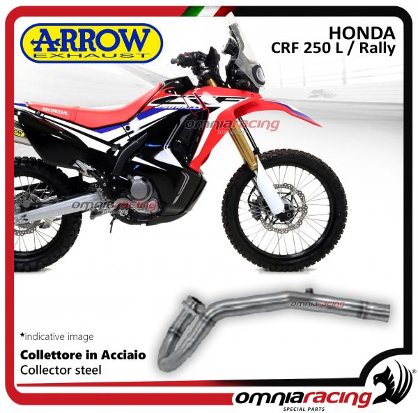 Arrow Collector Steel Not Homologated Racing For Honda Crf250l Rally