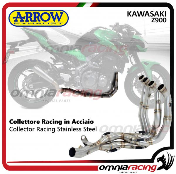Arrow Collector stainless steel Racing NOT homologated for Kawasaki Z900 2017>