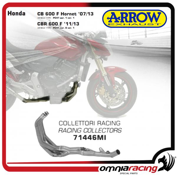 Arrow Collettore Racing in acciaio per Honda CB 600 F Hornet/ CBR 600 F