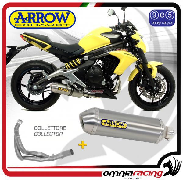 Arrow Full Exhaust Systemrace Tech Aluminium Homologated For