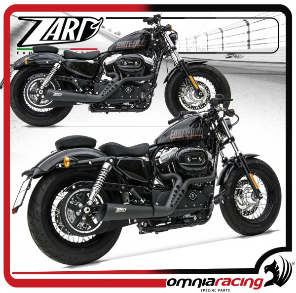 Zard Joker Black Racing for Harley Davidson Sportster 883/1200 03>13 Full  Exhaust System