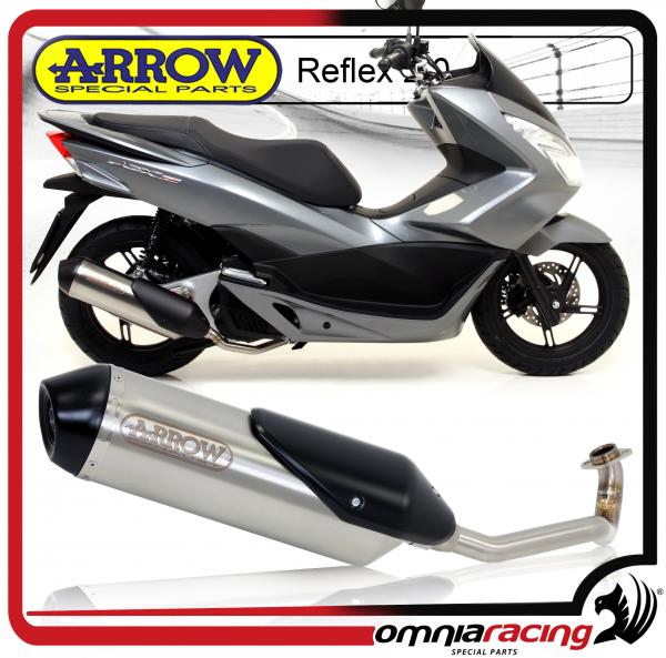 Arrow Reflex 2 0 Full Exhaust System with Homologated Header for Honda PCX  150 2012>2016