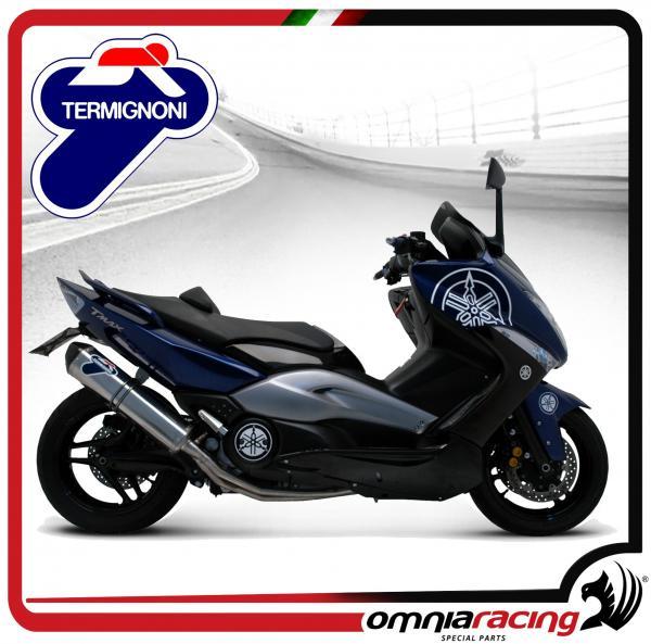 Termignoni Homologated 80db Full Exhaust System / Titanium Muffler for  Yamaha T-Max 500 2008 08>11