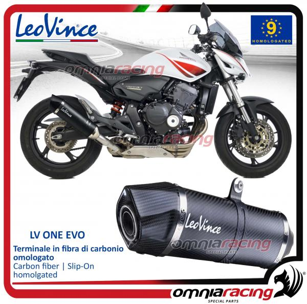 Leovince LV One Homologated Carbon Exhaust for Honda CB600F Hornet /ABS 2007>2013