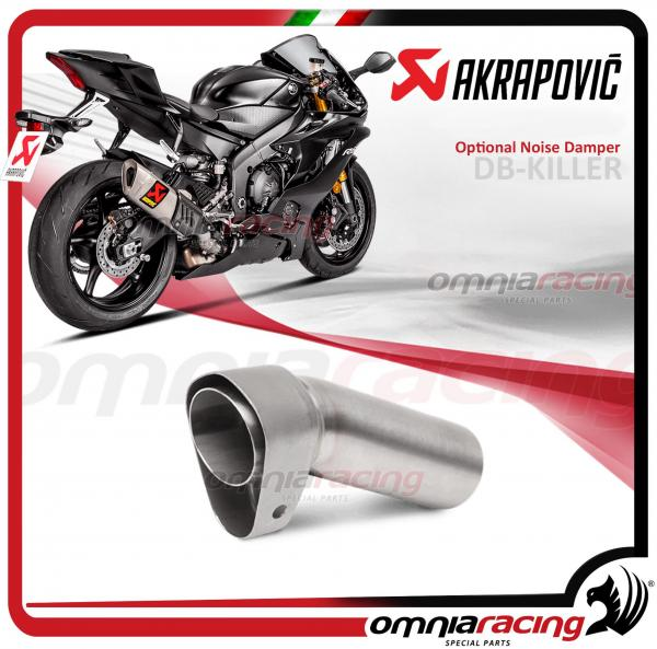 Akrapovic DB Killer Noise Damper For Slip On Line Titanium