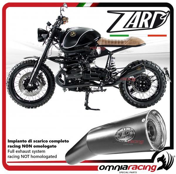 Zard exhaust steel silencer not homologated for BMW K100 / RS / RT / LT /  KRS16 / K1100LT / RS