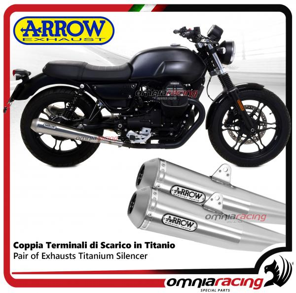 Arrow 2 Exhaust Pro Racing Steel Approved Moto Guzzi V7 Iii 2017 Ebay