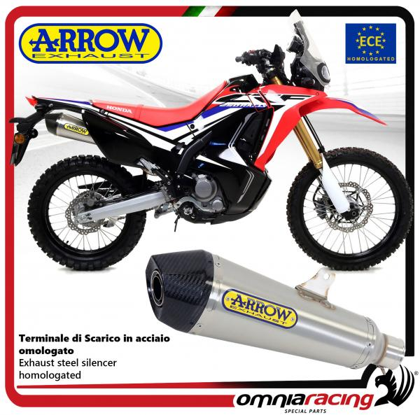 Arrow Exhaust X Kone Stainless Steel Silencer Homologated For Honda