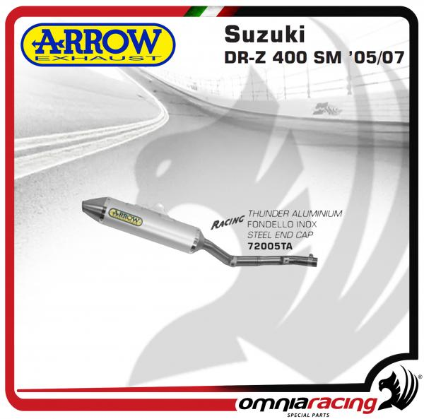 Arrow Exhaust Off-Road Thunder aluminium Silencer For Suzuki DR Z 400  2005>2007