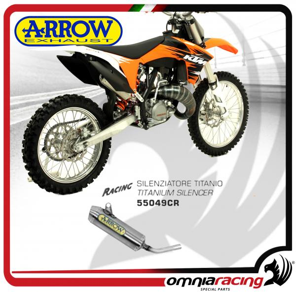 Arrow Exhaust All-Road 2T Mini Thunder Titanium Silencer For KTM 125 SX 2T  2008>2011