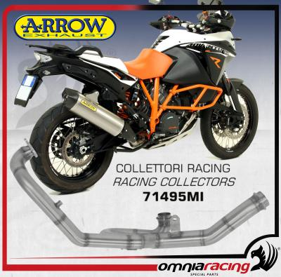 Arrow Collettori Racing 2in1 in Acciaio Inox per KTM 1190 Adventure R 2013 13>