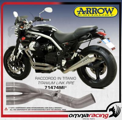 Arrow Titanium 2in1 Mid Pipe (Collector / Header) for Moto Guzzi Griso 1200  2007 07>