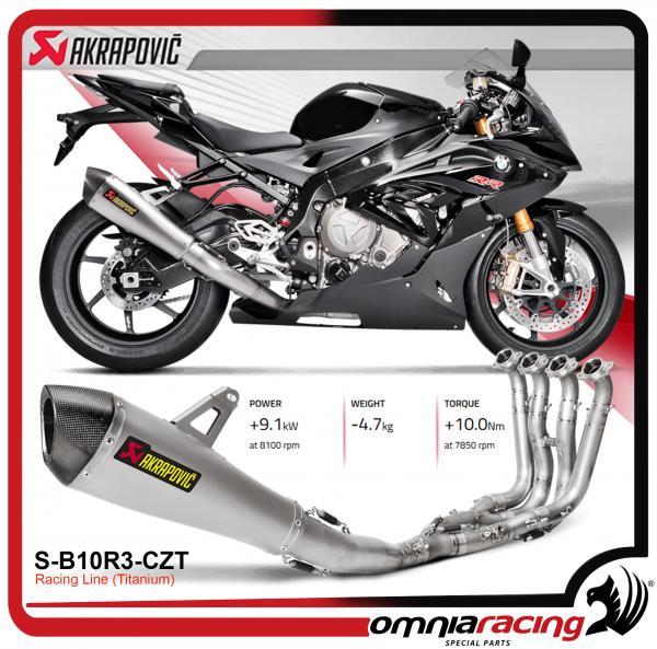 Akrapovic Racing Line Titanium For Bmw S1000rr 2015 15 Full Exhaust