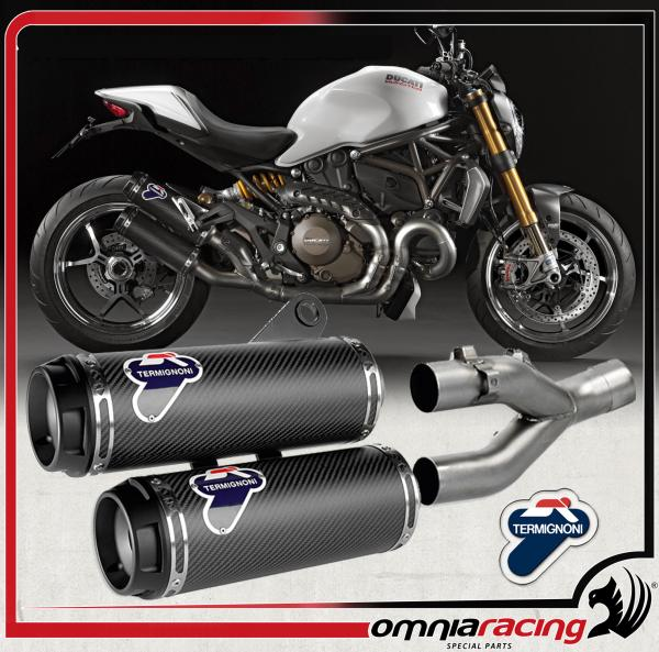 Termignoni Carbonio Racing D146 Per Ducati Monster 1200 S 2014 14