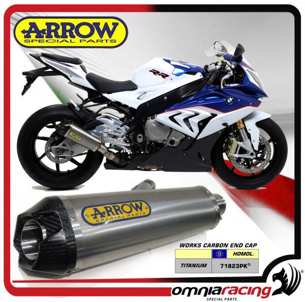 Arrow Works For Bmw S1000rr 2015 15 Titanium Outersleeve Homologated
