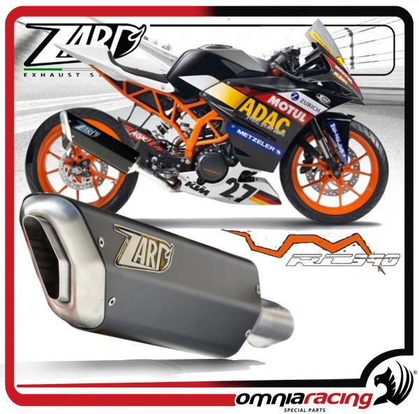 Zard Penta Black Racing For KTM Rc 390 2014 14> Slip On Exhaust System: KTM Rc Exhaust At Woreks.co