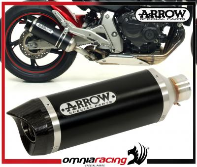 Arrow Dark Line Aluminium Carby E9 Exhaust for Honda CB 600 F Hornet /ABS 2007>2011